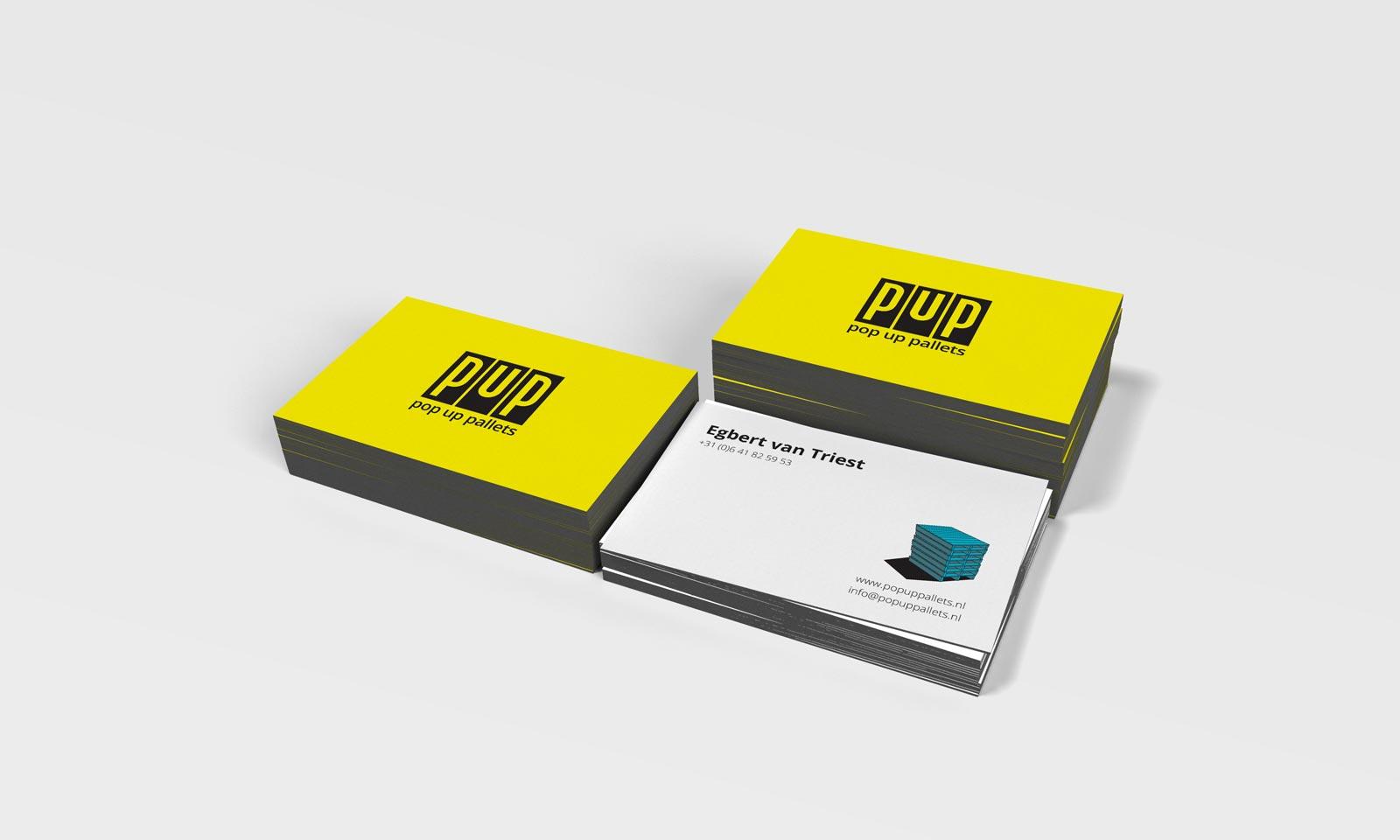 Pop up pallets petervandeweerd business card magicingreecefo Gallery